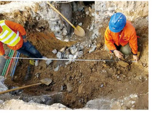 阳泉市热力公司一网管道安装